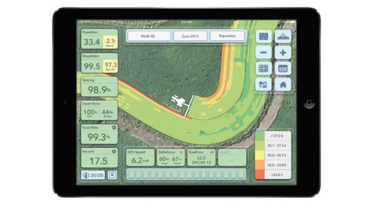FieldView works with SeedSense to capture and store all of your data and accurate, high-resolution maps. With FieldView Plus, you have access to all your information, anytime, everywhere. This wireless cloud-based system puts your data at your fingertips. Share remotely, scout in the field, check in with field notes — and most importantly, have all the knowledge you need to make the best decisions for your farm.