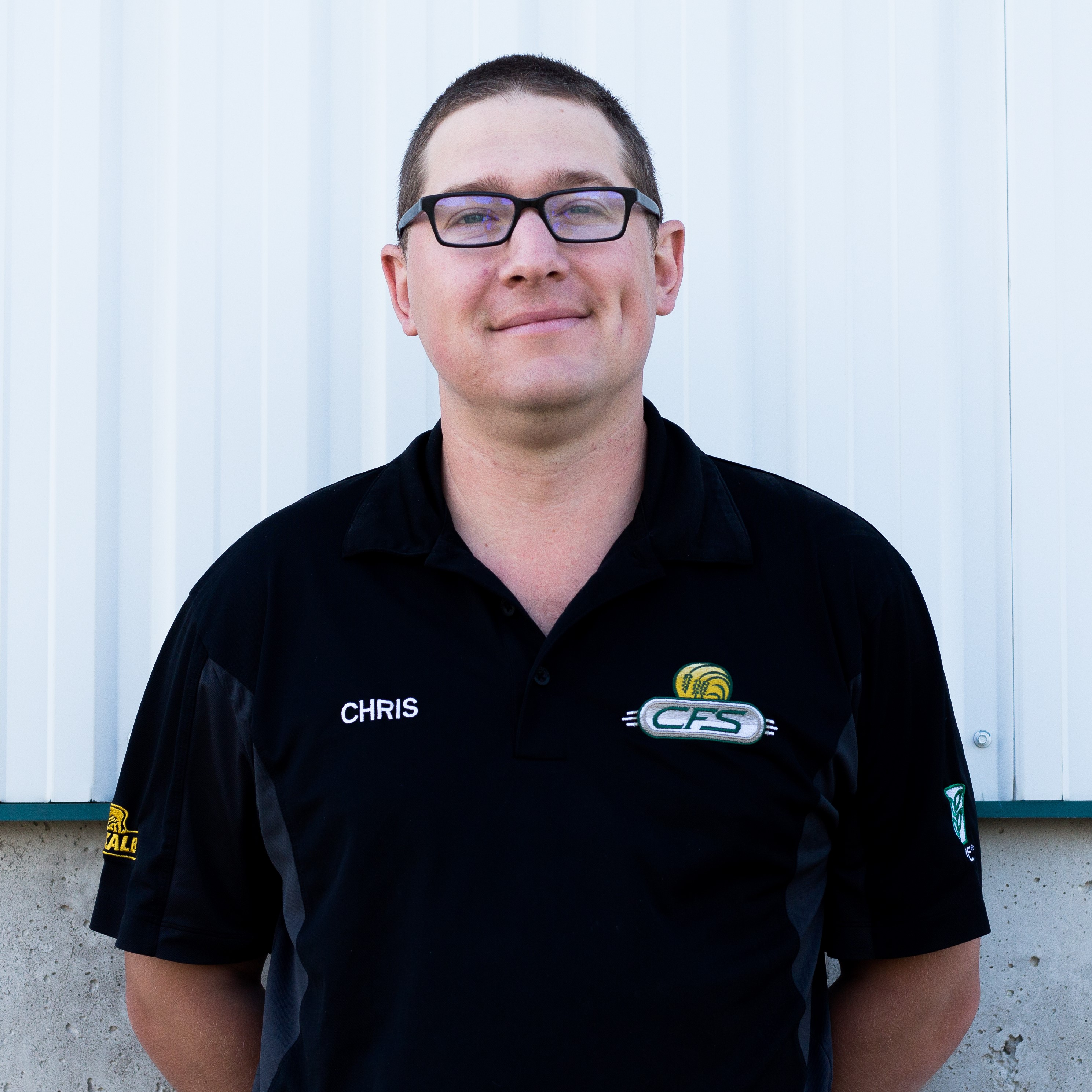 Chris HainesAgronomy, Precision Planting, Customer Service Chris grew up in Kingston and is currently living in community of Listowel. He joined the CFS team in the summer of 2018. He is a graduate of University of Guelph and previously worked for Syngenta Canada Inc. in the pesticide formulation lab. Chris has boots on the ground experience as a crop scout and drone operator. He puts to practice his technical expertise to support our customers with their Precision Planting needs.